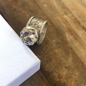 Silpada's Queen for a Day Ring size 7
